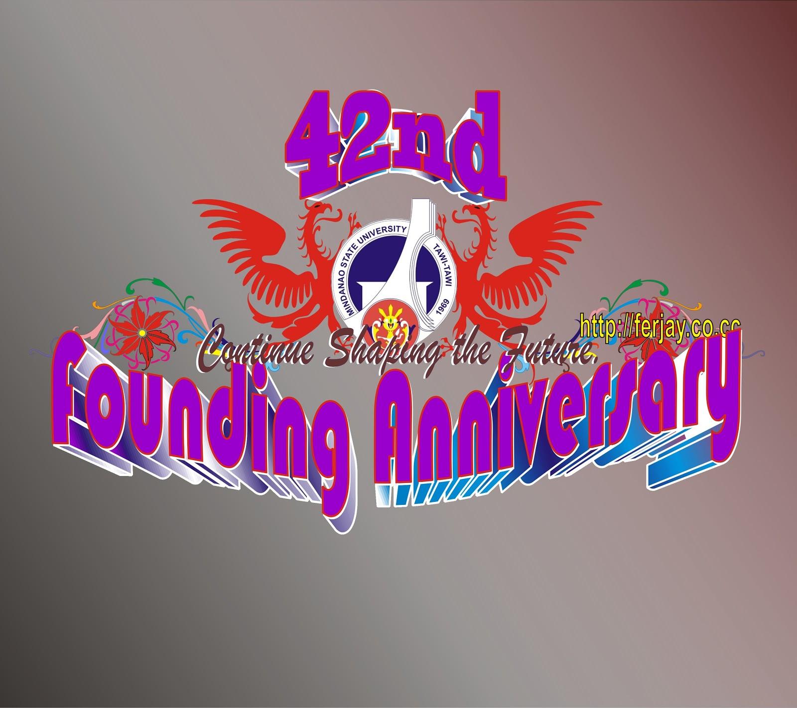 "42nd Wedding Anniversary Quotes: ""FJH ONTOLOGY"": 42nd Founding Anniversary Of MSU-TCTO"