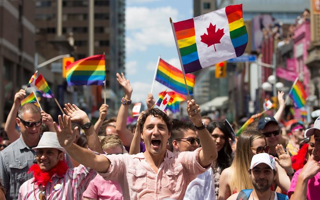 Parada canadense tem presença de primeiro-ministro e mais de 1 milhão de pessoas