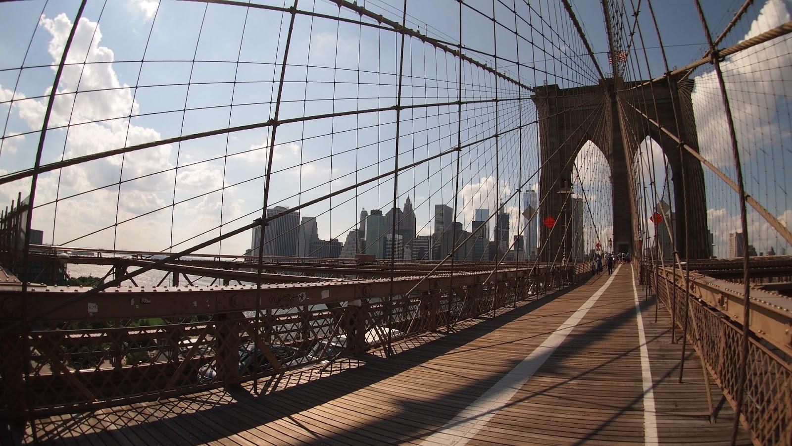 The Brooklyn Bridge, New York USA