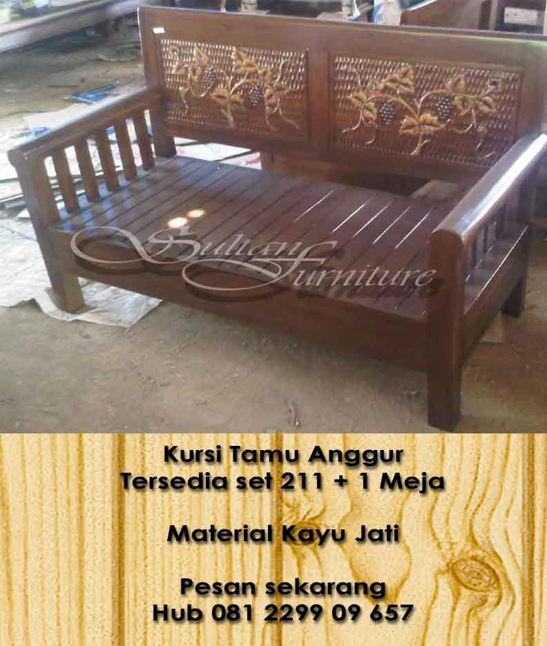 Jual Mebel Jati Kursi Tamu Jati Furniture Dari Jepara