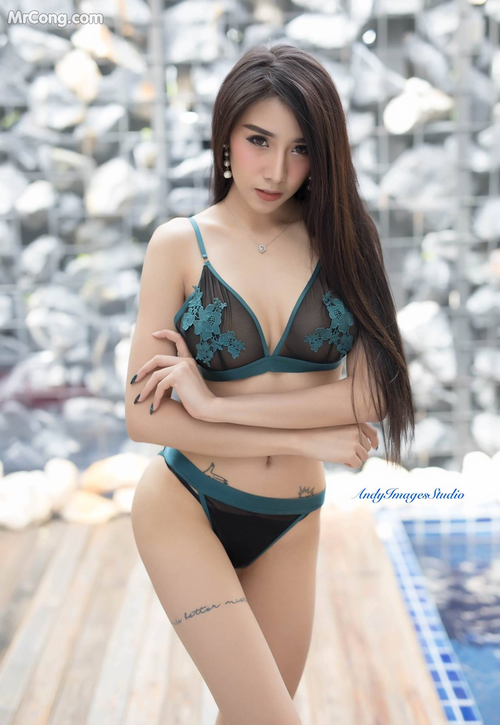 Image Thai-Model-No.337-Wpzz-IIwe-MrCong.com-007 in post Thai Model No.337: Người mẫu Wpzz IIwe (18 ảnh)