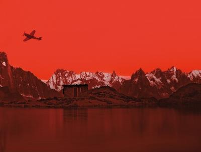 El niño en la cima de la montaña - Detalle de la portada
