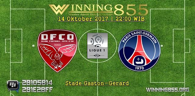 Prediksi Skor Dijon vs PSG 14 Oktober 2017