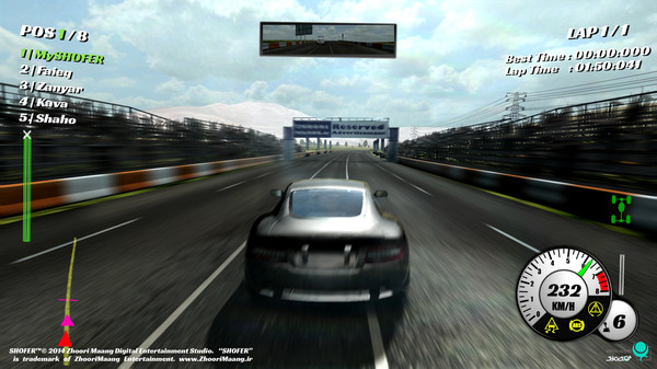 SHOFER Race Driver PC Full Version Screenshot 2