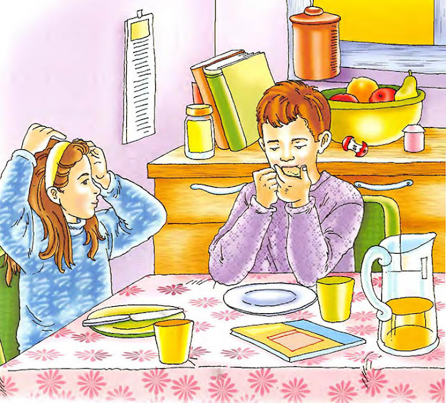 قصص اطفال قصيرة بالصور - قصة الكعك اللذيذ (لتعليم الاطفال الاهتمام بمشاعر الاخرين)