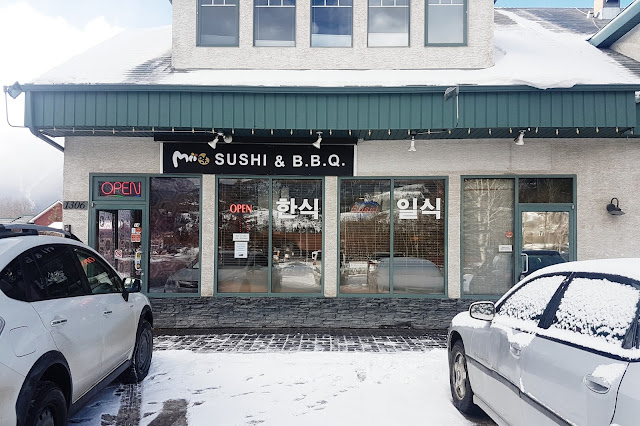 Mii Sushi & BBQ, Canmore