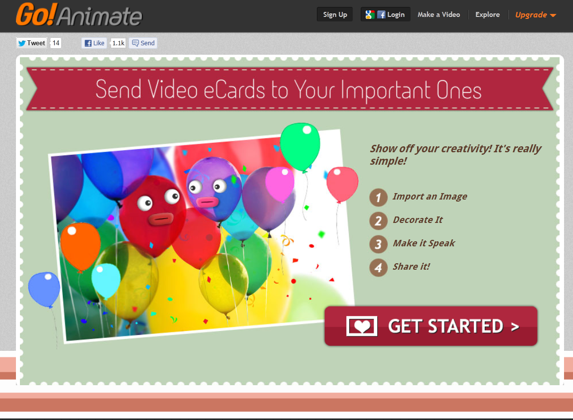 ecards přání k narozeninám Přání k narozeninám: Animované přání k narozeninám ecards přání k narozeninám