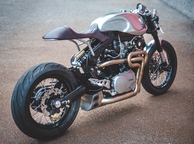 Racing Caf U00e8  Yamaha Xv 1000 1981 By Plan B Motorcycles