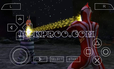 Download Game Ultraman Fighting Evolution PPSSPP ISO High Compressed
