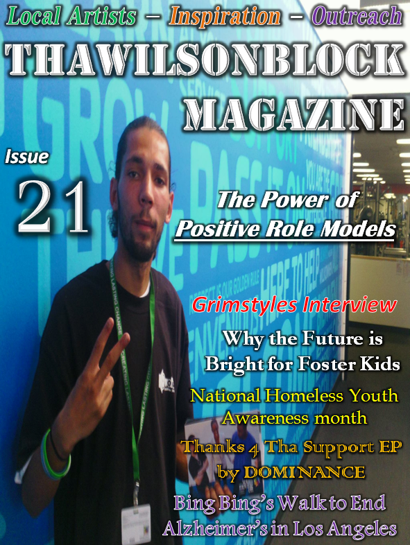 "ThaWilsonBlock Magazine Issue21 ""The Power of Positive Role Models"""