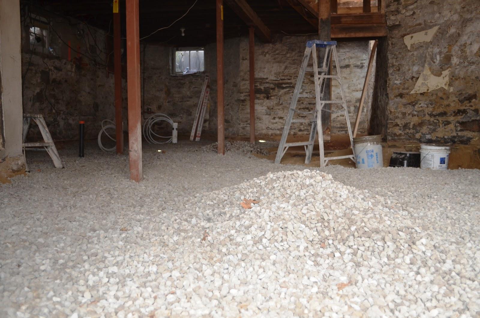 The Bennett House: Finishing The Basement Floor
