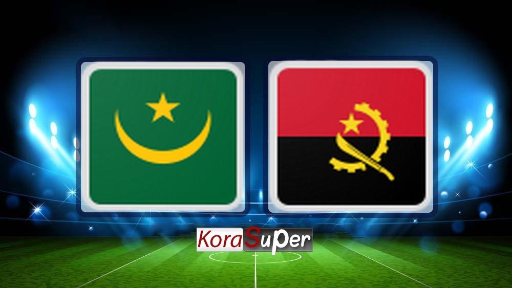 مشاهدة موريتانيا وانغولا 29-06-2019
