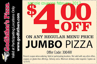 free Godfathers Pizza coupons february 2017