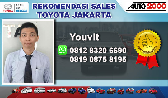Rekomendasi Sales Toyota Gunung Sahari