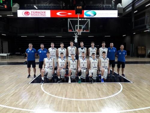 Εθνική Παίδων: Ελλάδα-Εσθονία 86-53 (Τουρνουά Κωνσταντινούπολης)