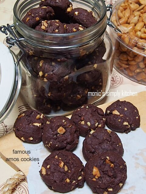 resep famous amos cookies