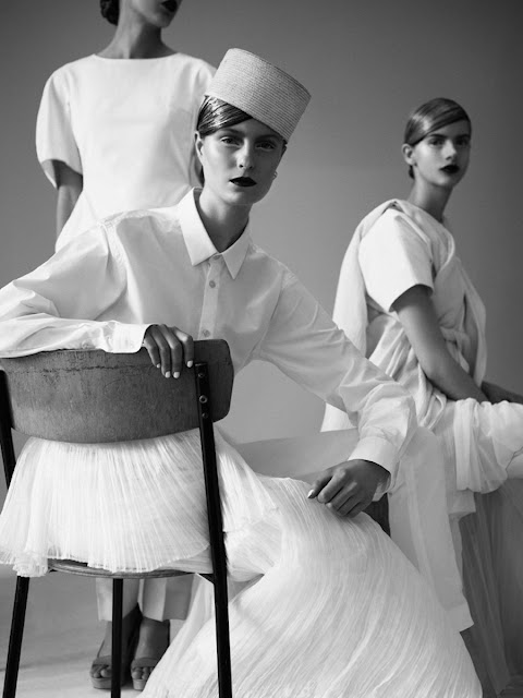 clara nergardh, viktoria persson and iris by ceen wahren for pulp 7 spring 2013