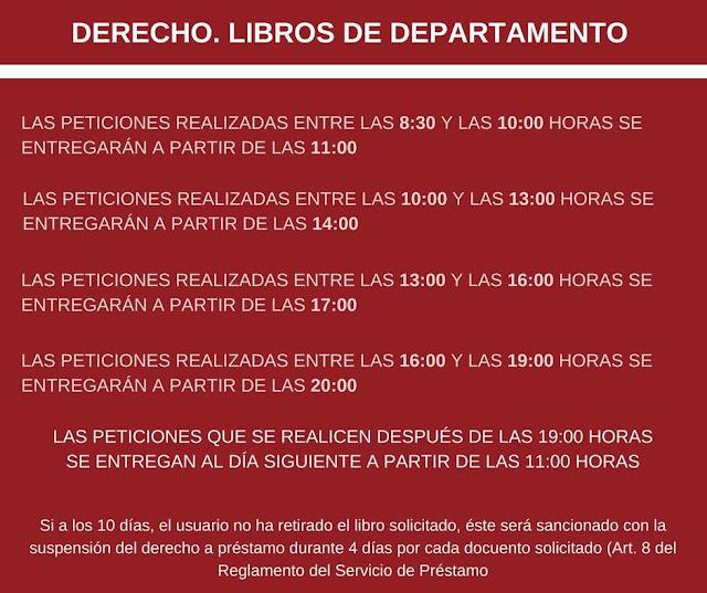 Biblioteca Jurídica. Libros de Departamento.