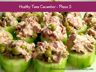 healthy tuna cucumber