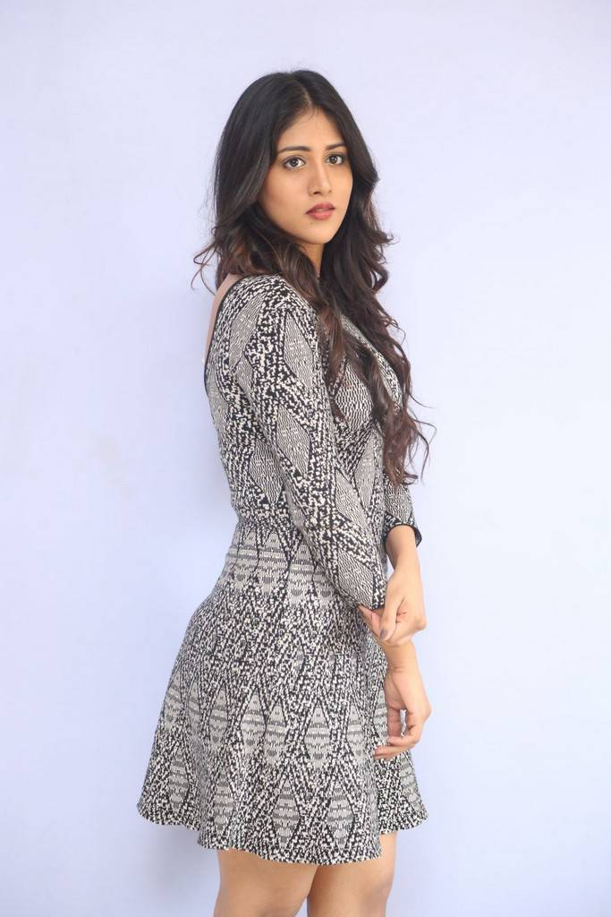 Chandini Chowdary Stills At Telugu Movie First Look Launch
