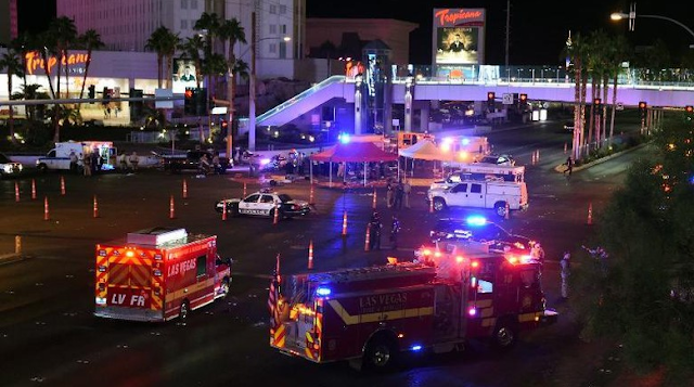 Penembak Brutal Las Vegas Bunuh Diri di Kamar Hotel