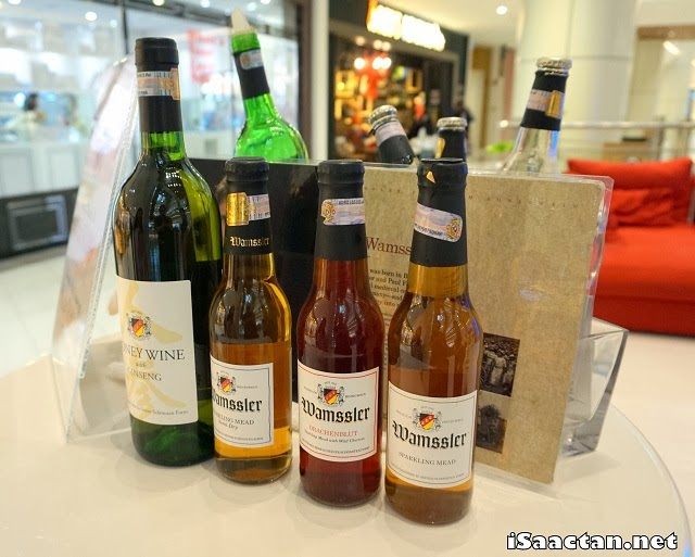 Wamssler Honey Wine @ Gurney Paragon Mall Penang