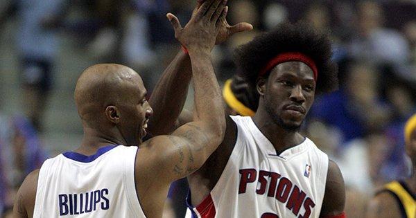 Chauncey Billups et Ben Wallace | PistonsFR, actualité des Detroit Pistons en France