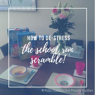 How to de-stress the school run scramble!
