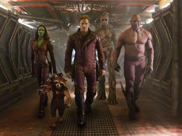 Guardians of the Galaxy cast superhero movie