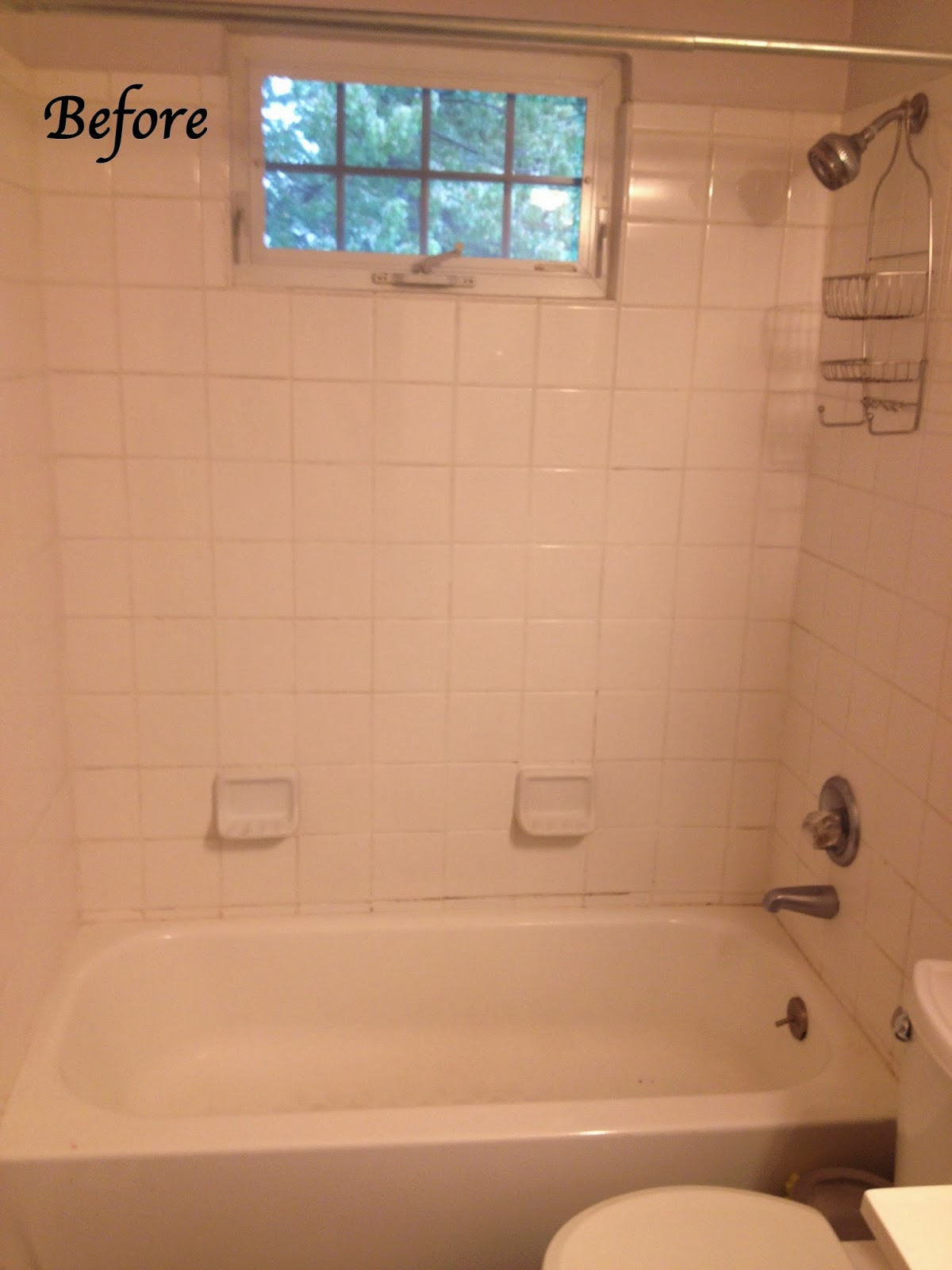 Re Tile Bathroom Eat Run Create Bathroom Makeover Part 1 Re Grout Shower Tile