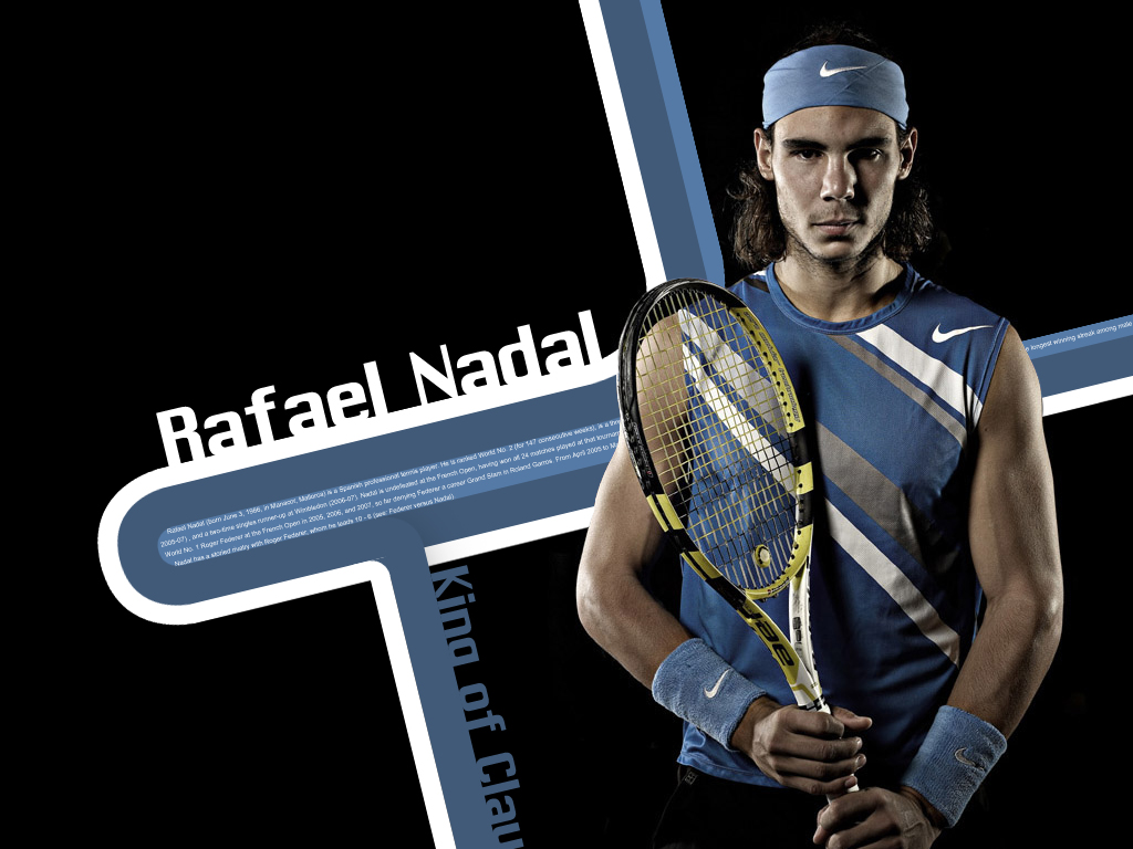 Young Sports Stars Rafael Nadal Hd Wallpapers 2012