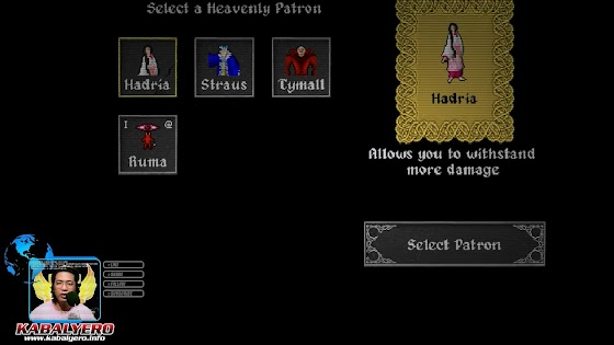 Heavenly Patron Hadria, Ananias Roguelike