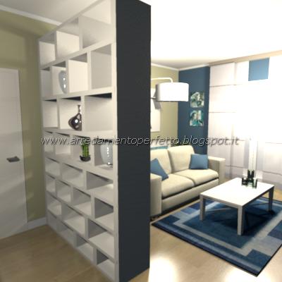 Consigli d 39 arredo separare l 39 ingresso dal soggiorno le - Mobili divisori ambienti ...