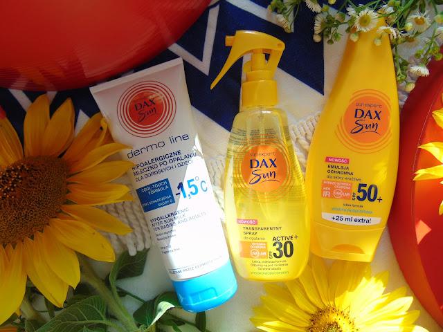 dax cosmetics, krem do opalania, leczko po opalaniu, 50+ ochrona przeciwsłoneczna