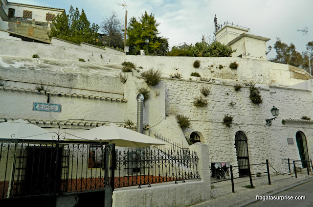 Granada, Andaluzia: bairro cigano do Sacromonte