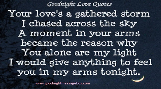 Powerful Love Quotes For Him Inspiration Best 45 Unique Love And Romantic Good Night Quotes For Her  Best