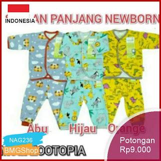 NAG236 Setelan Panjang Velvet Junior Newborn Katun Murah Bmgshop