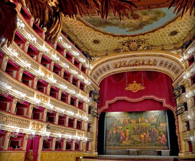 7. Teatro di San Carlo, Naples, Italy - Top 10 Opera Houses in the World