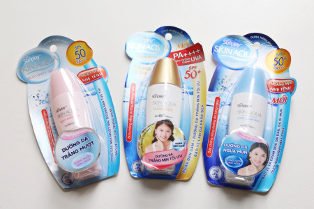 Review Kem chống nắng SunPlay Skin Aqua Clear White, sunplay, kem chống nắng, sunplay skin aqua, kem chống nắng sunplay, sunplay skin aqua clear white