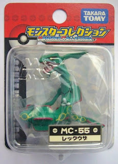 Rayquaza figure Takara Tomy Monster Collection MC series