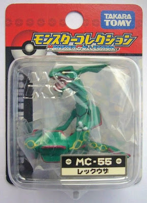Rayquaza figure Tomy Monster Collection MC series