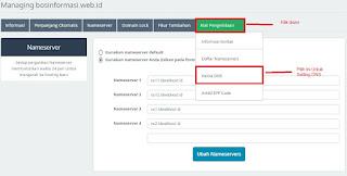Pengelolaan DNS Server dari Idwebhost terbaru