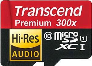 高音質microSDかと思ったか?TranscendのmicroSDだ!!(トランセンド製品のすゝめ