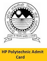 HP Polytechnic Admit Card