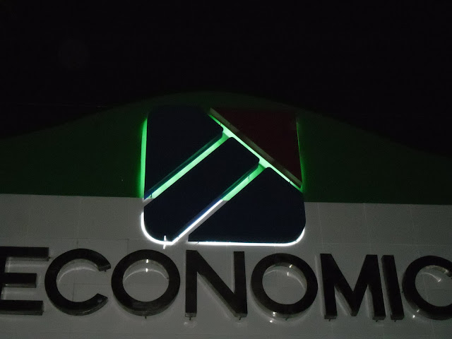 Lighted Logo Built Up Signage - Cavite Economic Zone