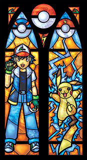 Cool Anime Stained Glass Creations