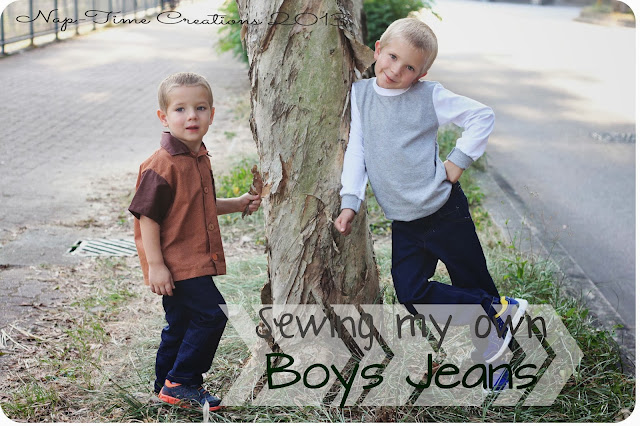 Sewing Jeans for Boys