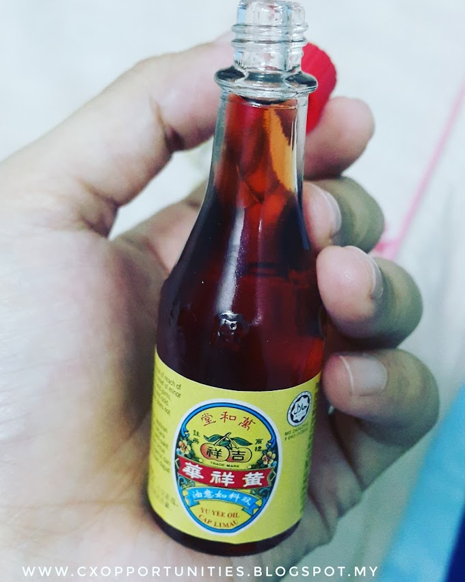 Minyak Yu Yee Cap Limau : Minyak turun-temurun