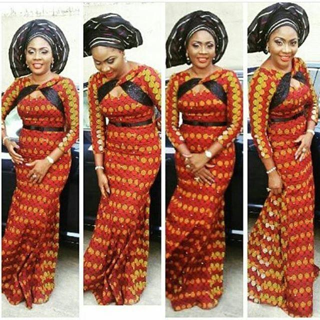 Ankara Long Gown Styles For Ladies - DeZango Fashion Zone