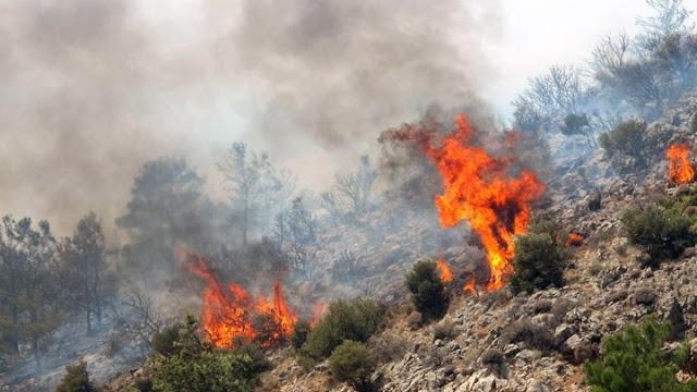 Η Αργολίδα σε υψηλό κίνδυνο πυρκαγιάς και την Κυριακή 23 Αυγούστου